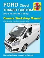Ford Transit Custom 2013 - 2017 Haynes Manual 6423