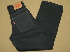 Euc Levis 550 black denim jeans - youth / boys 10 slim (23.5-24 x 25)