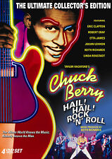 CHUCK BERRY HAIL ROCK N ROLL 4-Disc COLLECTORS EDITION Eric Clapton + Etta James