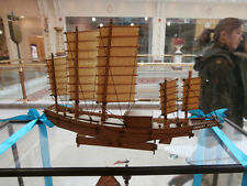 China sail boat Shanghai junk ship model Wooden model kit
