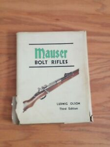 Book Mauser Bolt Rifles By Ludwig Olson 1983