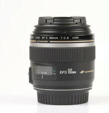 CANON EF-S 60mm f/2.8 Macro USM           (COMME NEUF!)
