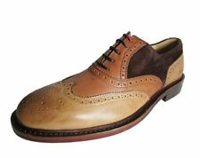 Kenneth Cole New York Men's Elite Class Leather Wingtip Oxford Shoe Size 10
