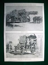 WW1 Guerra Mondiale 1918 pittore Caneva + Ettore Romagnoli, Teatro Dioniso