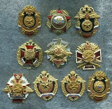 Russia Army Infantry Divisions Units 10 Military Screw Badges
