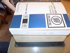 1968 69 70 71 72 73 Buick Parts Catalog SET_GSX/GS350 400 455/Riviera/Electra225