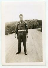 US Military Police Alcan Highway Whitehorse Yukon Territory Canada WWII Photo