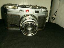 Petri 2.8 Color Corrected Super Rangefinder 35mm Camera W/4.5cm (45mm) F2.8 870