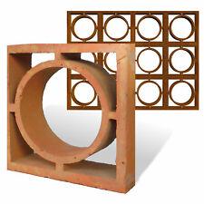 Formziegel Dekor Kreis - Wand Ornament Ziegel Wall Block Brick - Bemusterung