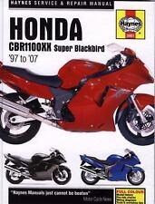1997-2007 Honda CBR1100XX Super Blackbird Repair Manual 2003 2004 2005 2006 0525