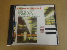 CD / SIMPLE MINDS - SONS AND FASCINATION