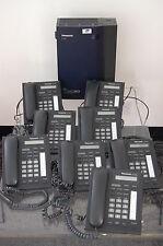Panasonic KX-TDA15 TELEPHONE SYSTEM WITH 8 PANASONIC KX-T7665