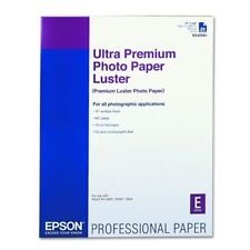Genuine Epson S042084 17x22 Premium luster photo paper