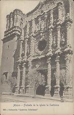 MEXICO FACHADA DE LA IGLESIA LA SANTISIMA COLECCION AMERICA CRISTIANA N°289