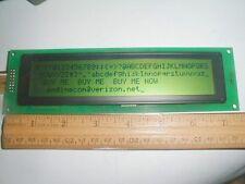 Qty 2 Huge LCD Alphanumeric Display 4 lines 40 Character 7 inch 5x7 dot matrix