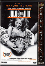 JULES AND JIM-Two artists fall in love and share same woman JEANNE MOREAU-French
