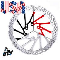 Bicycle MTB Mechanical Brake Disc Bike Caliper Set And 160/180/203mm Brake Disc