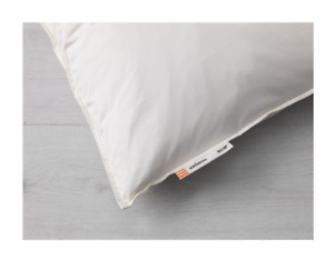 2 x Ikea KRÖSON KROSON Pillow Softer 50x80cm 100% Duck Feather 703.513.82 New