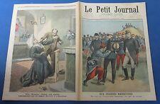 Le petit journal 1898 411 assassinat d'une bonne soeur dans un asile