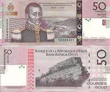 Haiti P274, 50 Gourde,  François Cappiox / Fort Jalousière HOLOGRAM $5 Cat Val