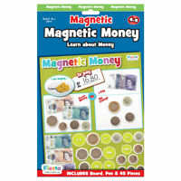 Money Magnetic Chart - Magnetic Set - Fun daily educational activity