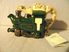 SUPERB & DELIGHTFUL VERY RARE STEAM ENGINE CARTER TEAPOT ** EXCELLENT CONDITION
