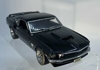 Danbury Mint 1:24 Diecast Model 1969 Ford Mustang Boss 429  Black - Minor Issues