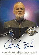 STAR TREK CINEMA 2000 - AUTOGRAPH A16 ANTHONY ZERBE as Admiral Dougherty