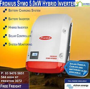Fronius Symo 5.0kW  Hybrid Solar Inverter Controller Charger