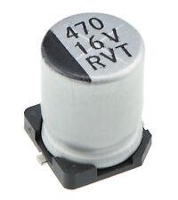 10 x 50V 1uF SMD / SMT Electrolytic Capacitor