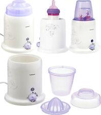 Calienta biberones y esterilizador de bebés, medidor agua, vaso zumo ,exprimidor