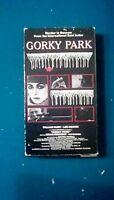 GORKY PARK VHS Tape 1983 Murder Thriller William Hurt Joanna Pacula