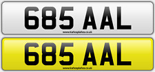 685 AAL Alan Lewis Lee Dateless Personalised Registration Cherished Number Plate