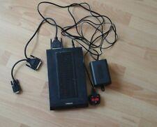 Modem US Robotics Courier Dual Standard V.34 Fax V.32 bis & Power Supply Vintage