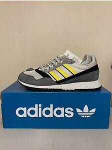 Adidas Originals Ashurst Spezial UK 9.5 Grey & Yellow BNIB SPZL