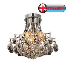 Ai Lighting®Modern 3 Light Flush Ceiling Light Chandelier,K9 Crystal Decor