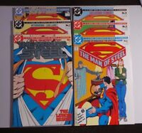 SUPERMAN MAN OF STEEL #1-6 DC COMPLETE SET VF+ to NM+ 8.5-9.6 SPECIAL EDITION #1