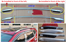 New luggage carriers bar roof rack side rails for Nissan Rogue x-trail 2014-2017
