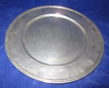 """Arte Italica Peltro Pewter Charger Plate, 13 1/8"""""""