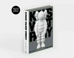 """Kaws - Signed """"What Party"""" Hardcover Book, Edition of 500 IN HAND! Long sold out"""