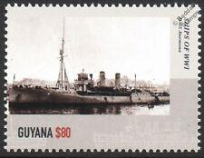 HMS ANEMONE (1915) Acacia-Class Sloop WWI Royal Navy Warship Stamp