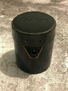 Canon Leather Lens Case - 4 x 3.25 inches