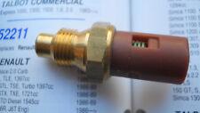 Interruptor de Unidad de remitente de temperatura Intermotor 52211 se ajusta Renault 9 11 21 25 (década de 1980)