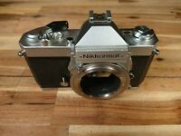 Nikon Nikkormat FT2 35mm SLR Film Camera Working - Worn Body Only