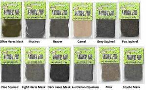 Wapsi Natural Fur Dub Packets