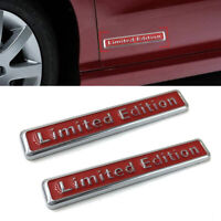 Universal 3D Metal Limited Edition Car Stickers Badge Decal Emblem Accessories X