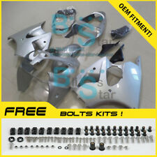 Silver INJECTION Fairing Plastic Kit Set Kawasaki ZZR600 05-08 78