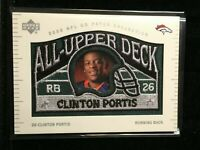 F29431  2003 UD Patch Collection All Upper Deck Patches #UD17 Clinton Portis