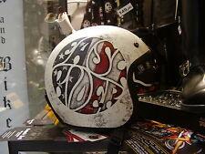 Casco NZI moto custom easy rider helmet route 66 visiera scomparsa e automatici