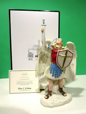 Lenox Saint Michael The Archangel Sculpture Statue Ivory Porcelain NEW in Box